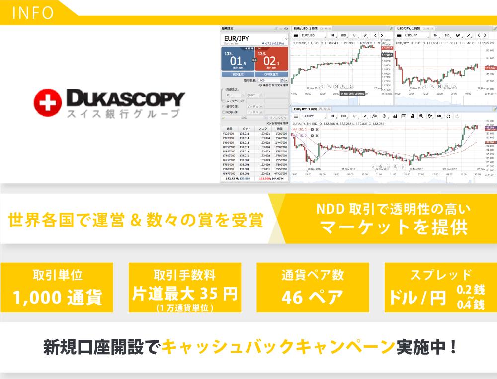デューカスコピー・ジャパンの気になる特徴やスペック情報